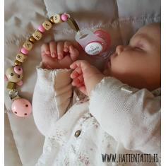 www.hattentatti.fi tutti mummin kulta vauva tuttinauha nalle