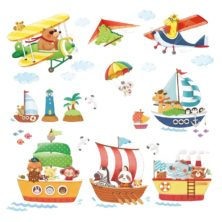 www.hattentatti.fi sisustustarra merellä ilmassa eläimet