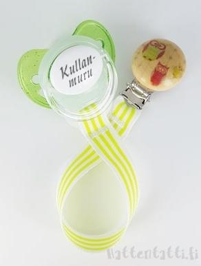 www.hattentatti.fi tuttinauha lime-raita pöllö