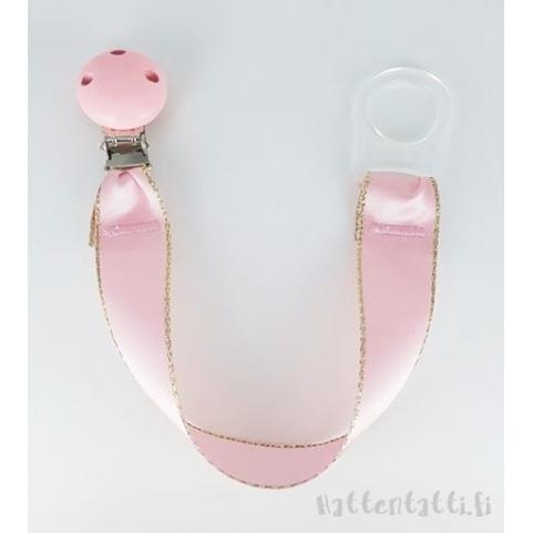 www.hattentatti.fi tuttinauha vaaleanpunainen kultareuna